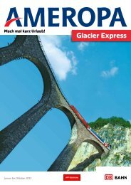 Glacier Express - Ameropa-Reisen