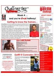 Week 4 - The Original GETFIT Challenge