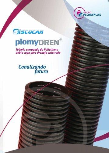 Tubería drenaje Plomyplas - Siscocan Grupo Comercial SA