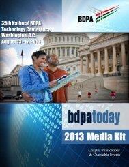 BDPA-DC Media Kit with Quad-Chart - bdpatoday