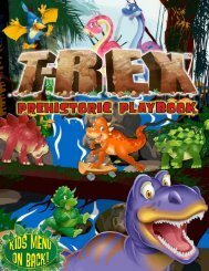 Prehistoric Playbook - T-Rex Cafe