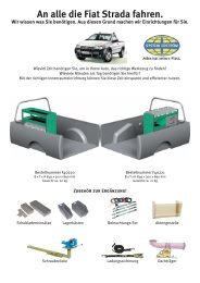 Interior brochure - Schneider Fahrzeugeinrichtungs GmbH