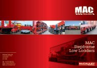 Download MAC Step Frame Brochure - MAC Trailers