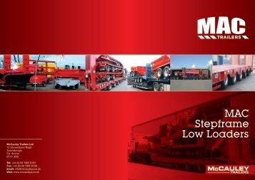 Download MAC Step Frame Brochure - MAC Trailers