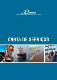 CARTA DE SERVIÇOS DA ANTAQ Final.indd