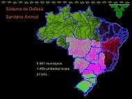 Sistema de Defesa Sanitária Animal - Embrapa Suínos e Aves