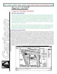 SurvCADDR - Carlson Software