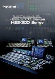 HSS-3000 Series HSS-300 Series HSS-3000 Series HSS-300 ...
