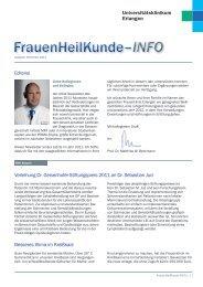 FrauenHeilKunde–INFO FrauenHeilKunde–INFO - Frauenklinik