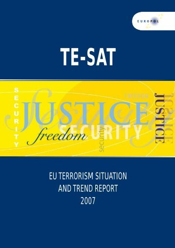 EU Terrorism Situation and Trend Report 2007 - European ...