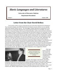 Slavic Languages and Literatures - Cokdybysme.net