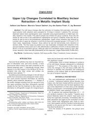 Upper Lip Changes Correlated to Maxillary Incisor ... - ResearchGate