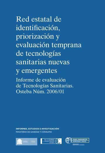 Red estatal de identificación, priorización y evaluación ... - Euskadi.net