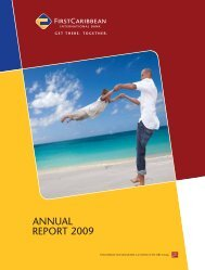 2009 Annual Report - FirstCaribbean International Bank Limited