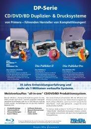 CD/DVD/BD Produktionssystem. - ARP