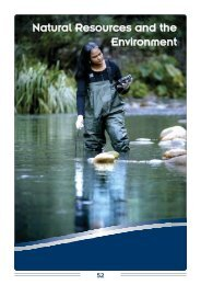 Natural Resources and the Environment - CSIR