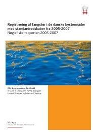 Registrering af fangster i de danske kystområder med ...