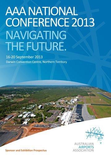 16-20 September 2013 - Australian Airports Association