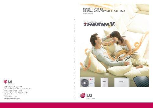 LG Therma V katalógus - Kesztler Klíma Kft.