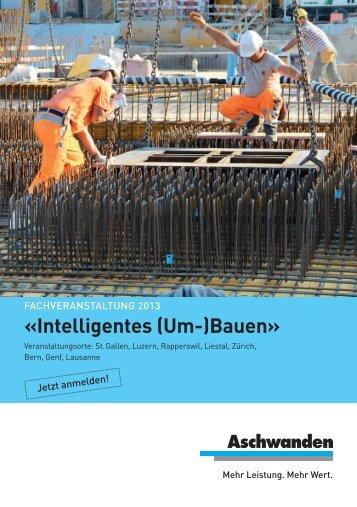Einladung / PDF - FJ Aschwanden AG