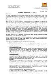 1. Elternbrief des Schuljahres 2013 - Adalbert Stifter Grundschule