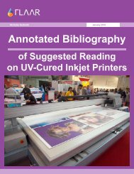 Annotated Bibliography - Wide-format-printers.org