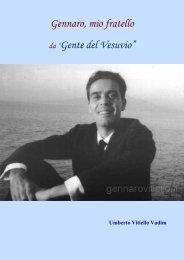 """Gennaro, mio fratello da """"Gente del Vesuvio"""" - Vesuvioweb"""