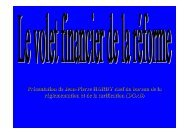Présentation de Jean-Pierre HARDY chef du bureau de la ... - EHESP