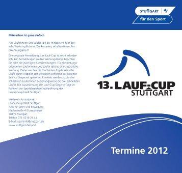 Termine 2012 - Sportkultur Stuttgart