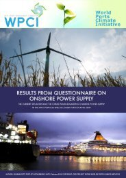 Results from the questionnaire on Onshore Power Supply