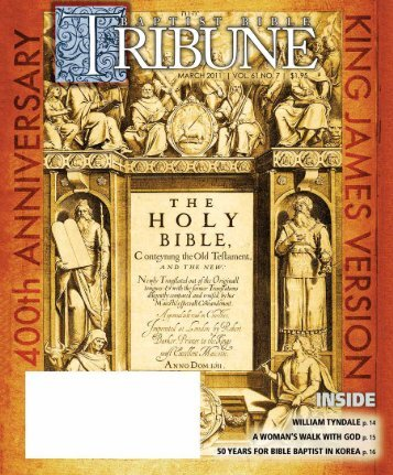 O - Baptist Bible Tribune