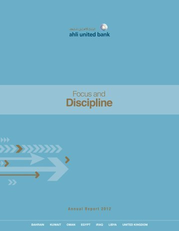 Annual Report 2012 - Ahli United Bank