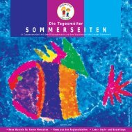 Sommerseiten 2007 - Tagesmütter Steiermark