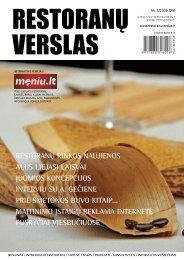 Restoranų verslas 2009/1