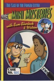 Mini Mysteries Book 105 Sample - Attainment Company