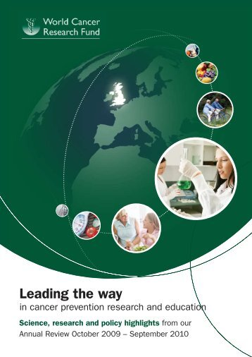 Annual Review 2009 – 2010: Science, research and policy highlights