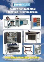 The UK's No.1 Technical Education Furniture Range