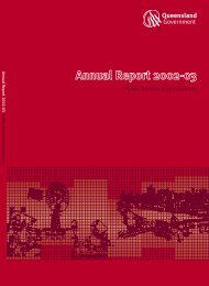 2003 Annual Report - Public Service Commission - Queensland ...