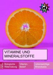 VITAMINE UND MINERALSTOFFE - Die-Drogerie.ch