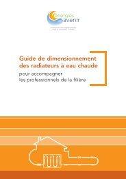 Guide de Dimensionnement des radiateurs à eau chaude - Uniclima