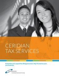 Tax Filing - CompareHRIS.com
