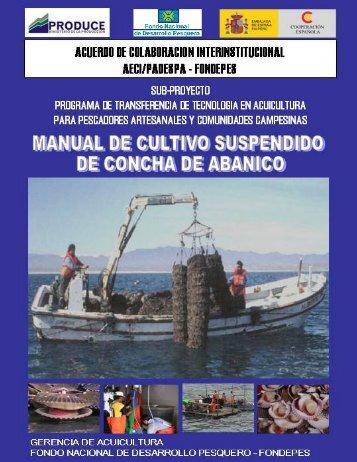 Manual de Concha de Abanico - Ministerio de la Producción