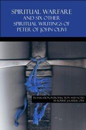SPIRITUAL WARFARE - Franciscan Institute Publications