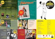 cinéma cabaret sportif - L'Entorse