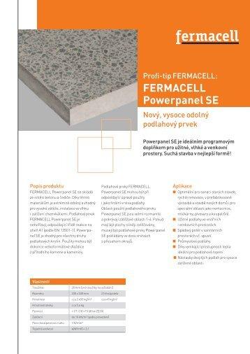 FERMACELL Powerpanel SE