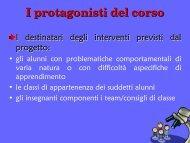 I protagonisti - USP di Piacenza