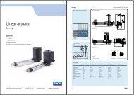 Actuators - Electro Mechanical Systems Ltd.