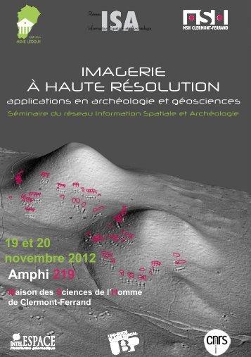 Amphi 219 - Maison des Sciences de l'Homme de Clermont-Ferrand ...