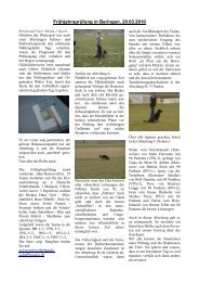 Frühjahrsprüfung Beringen 20 03 2010 - Schweizerischer Rottweiler ...