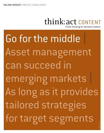 Asset management in emerging markets - Roland Berger Strategy ...